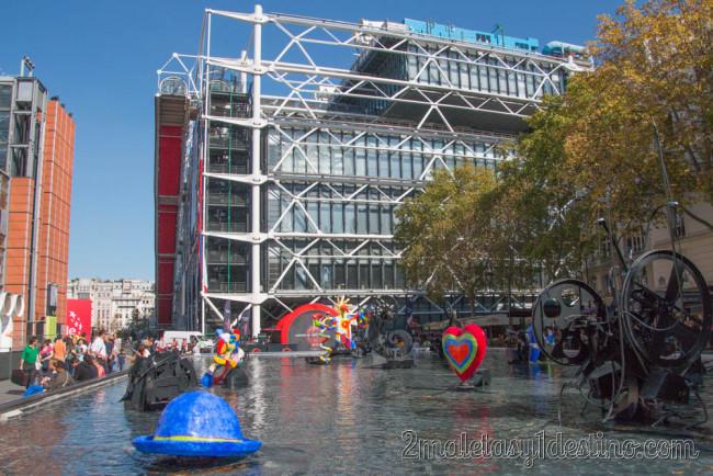 Fuentes del Centro Georges Pompidou