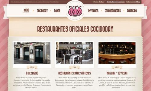 Naguar, restaurante oficial del #CocidoDay