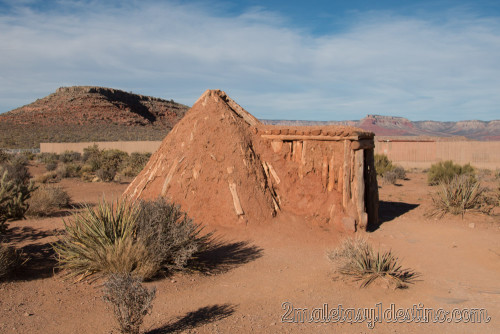 Sweat Lodge de los indios Navajos