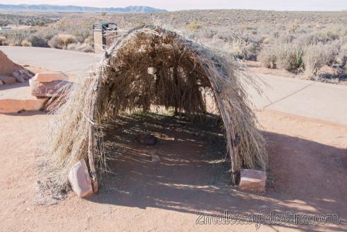 Tienda Sweat Lodge de los indios Havasupai