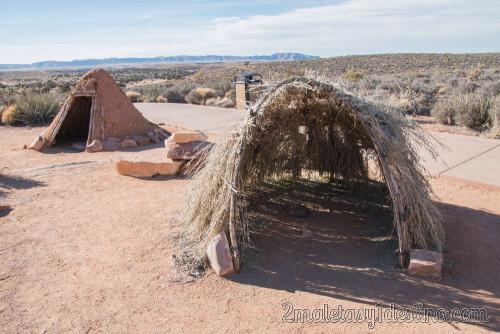 Tienda Sweat Lodge, indios Havasupai