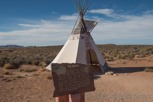 Tipi de los indios Plains