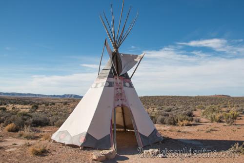 Tipi de la tribu india Plains