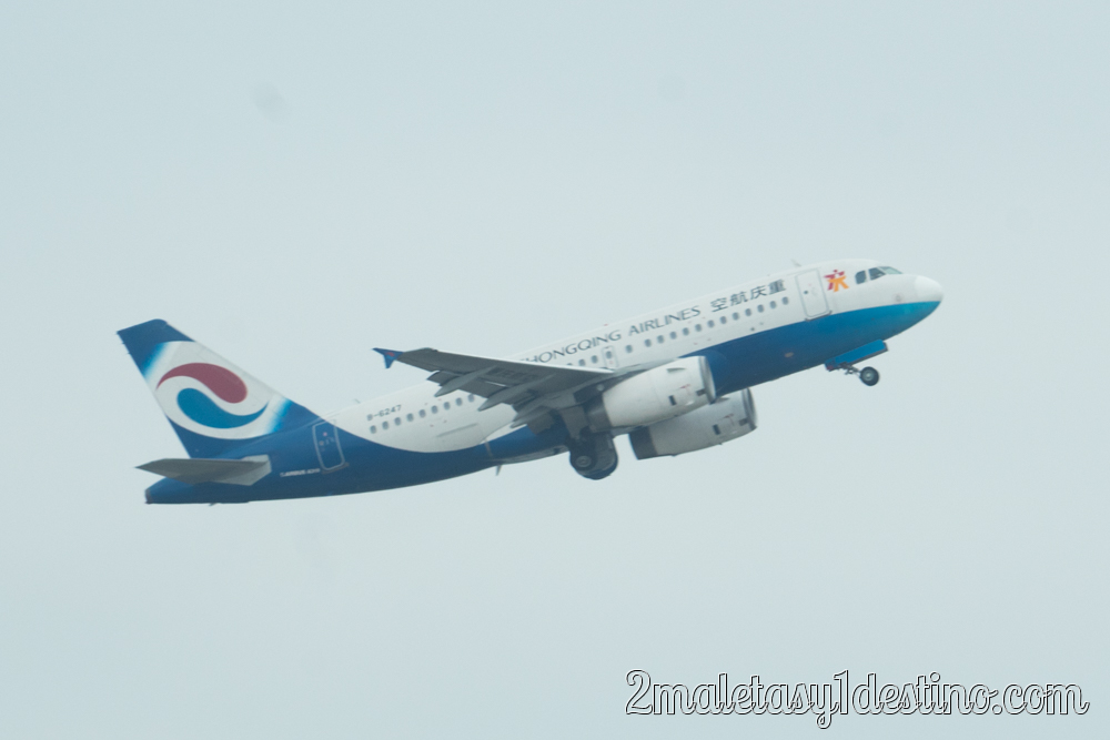 Airbus A319-133 (B-6247) Chongqing Airlines