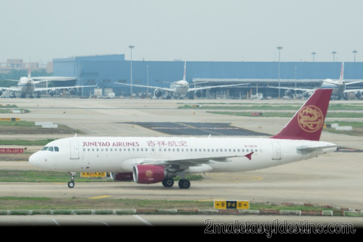 Airbus A320-200 (B-9978) Juneyao Airlines