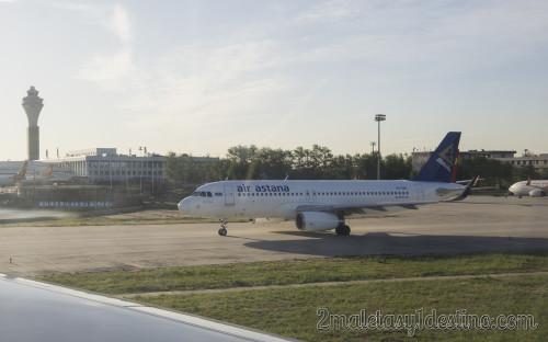 Airbus A320-232(WL) (P4-KBC) Air Astana