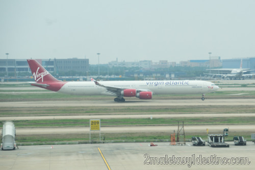 Airbus A340-642 (G-VWEB) Virgin Atlantic Airways