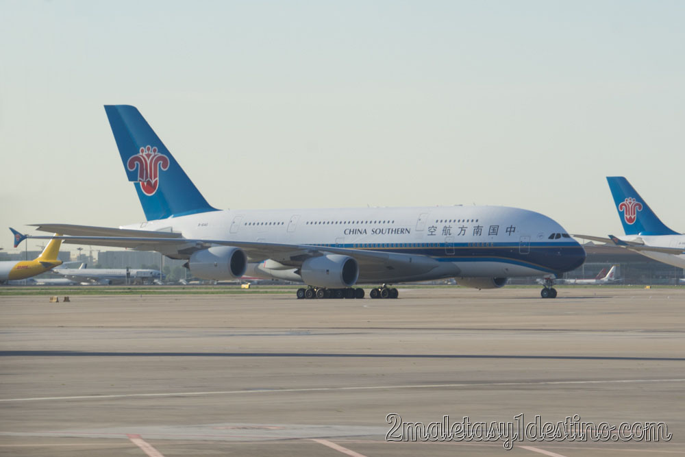 Airbus A380-841 (B-6140) China Sourthern Airlines