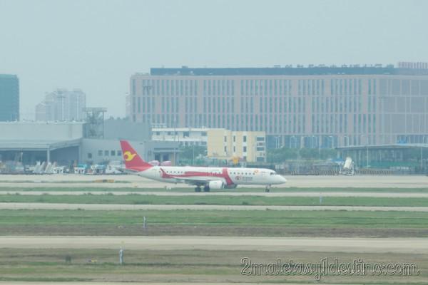 Embraer ERJ-190LR (B-3166) Tianjin Airlines