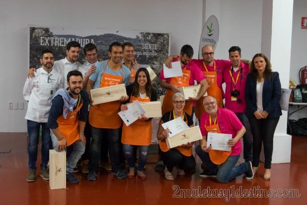 Equipo 21 ganadores TBM Chef Extremadura