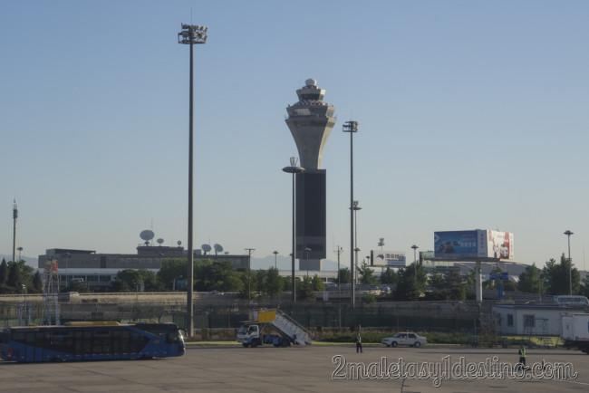 Torre de control aeropuerto Pekín