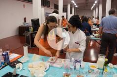 Vanina cocinando TBMPlasencia Chef Extremadura Masterchef