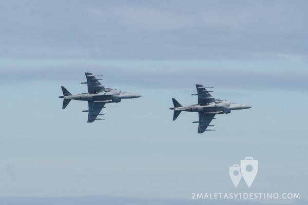 AV-8B Harrier II Plus virando