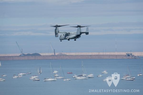 Bell-Boeing V-22 Osprey en Gijon