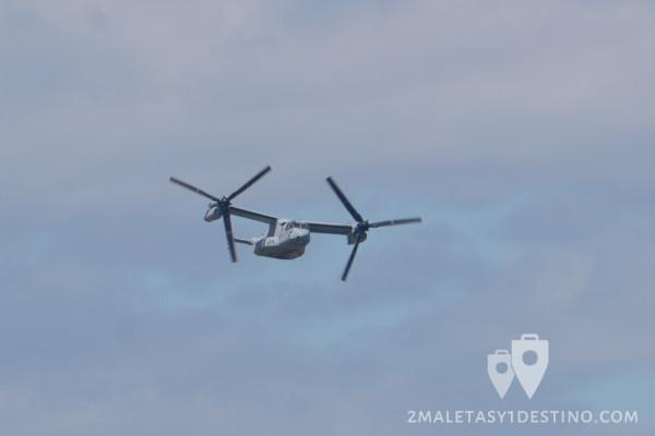 Bell-Boeing V-22 Osprey volando