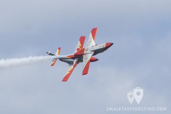 CASA C-101 de la Patrulla Águila