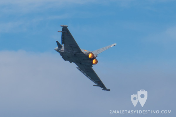 Eurofighter Typhoon motores postcombustion