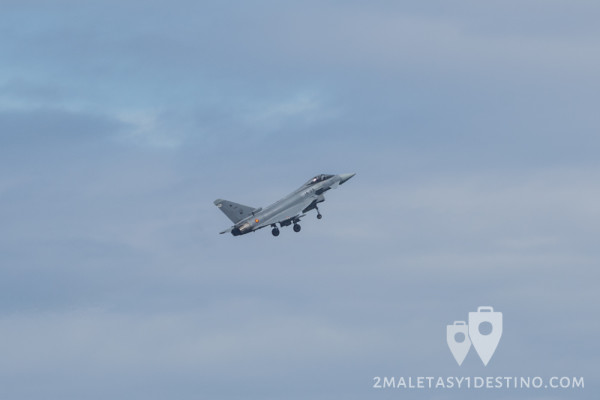 Eurofighter Typhoon tren aterrizaje