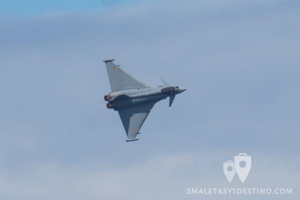 Eurofighter Typhoon virando