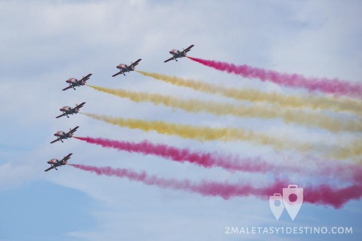 Patrulla Águila bandera España