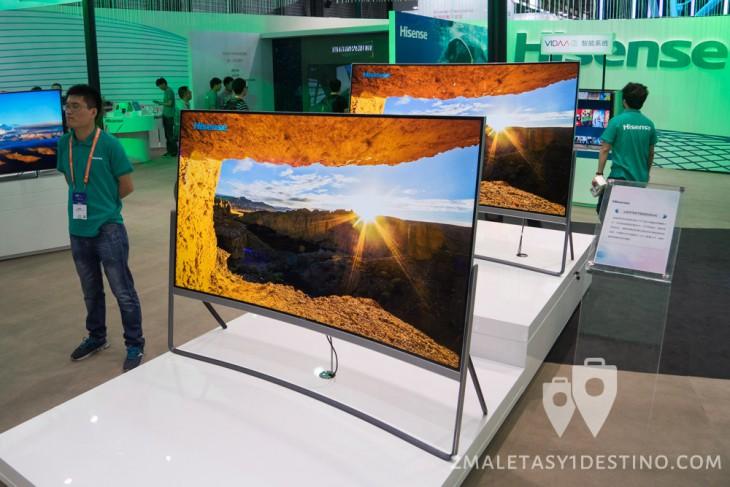 Televisiones UHD 4K Hisense de 78 pulgadas