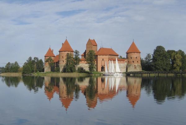 Castillo de la Isla de Trakai