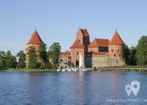 Frontal del Castillo de Trakai