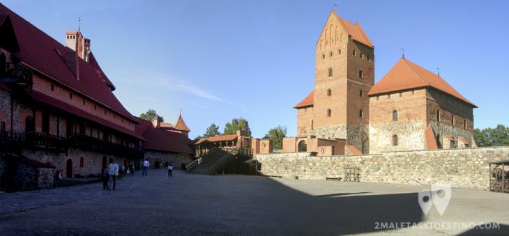 Interior del Castillo de Trakai
