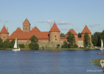 Lateral del Castillo de Trakai
