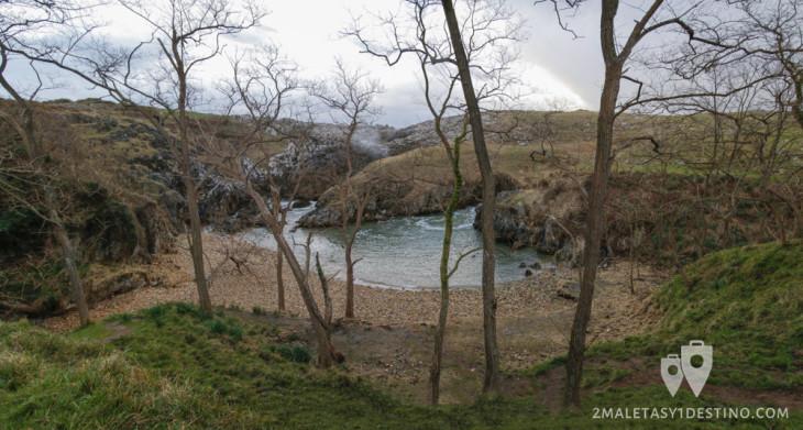 Playa de Cobijeru (Buelna - Llanes - Asturias)