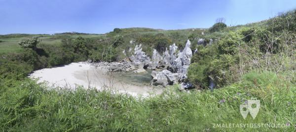 Playa de Gulpiyuri (Naves - Llanes - Asturias)