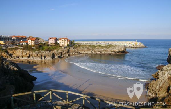 Playa de Puertu Chicu (Llanes - Asturias)