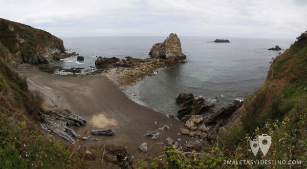 Playa del Castillo (Pendueles - Llanes - Asturias)