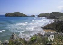 Playas de Arenal de San Martín, Portillo y La Isla (Poo - Llanes - Asturias)