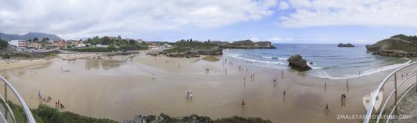 Playas de Las Cámaras y Palombina (Celorio - Llanes - Asturias)