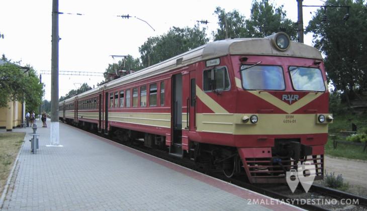 Tren de Vilnius a Trakai