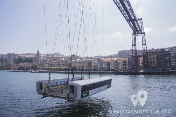 Barquilla rumbo a Portugalete