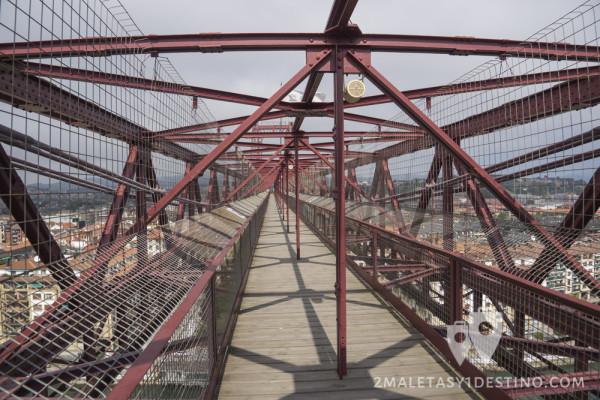 Pasarela del Puente Vizcaya