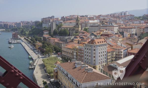 Portugalete desde Puente Colgante
