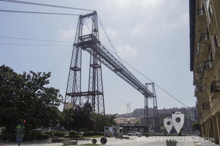 Puente Colgante desde Getxo