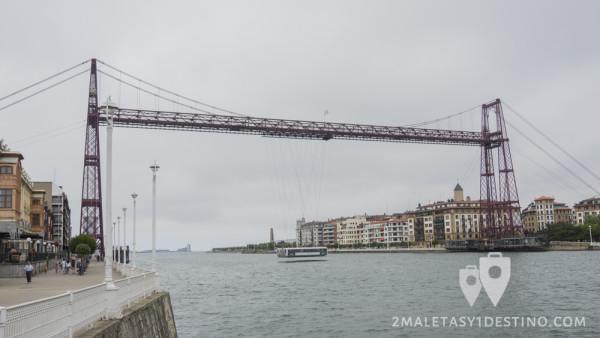 Puente Vizcaya o Puente Colgante