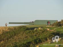 Cañón de la batería costera en A Coruña