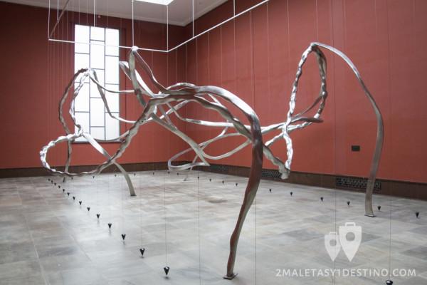 Escultura de metal Museo Vigeland