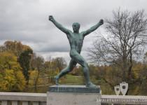 Escultura hombre Vigeland
