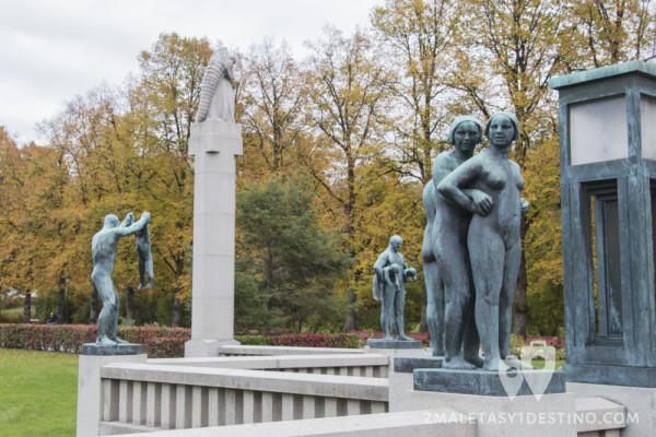 Esculturas Parque de Vigeland