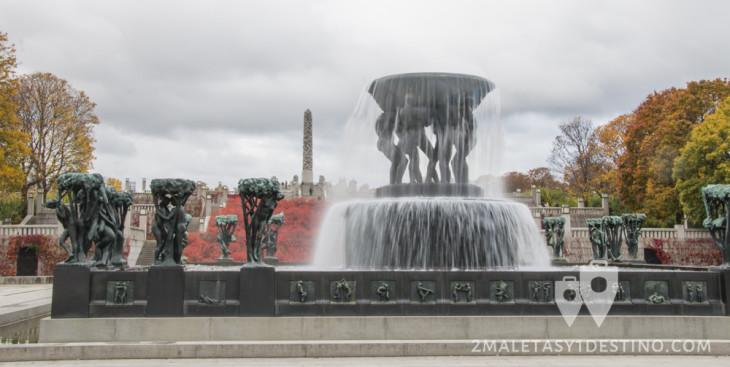 Fuente del Parque de Vigeland