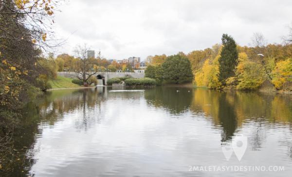 Lago de Frognerparken