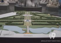 Maqueta del Parque Vigeland
