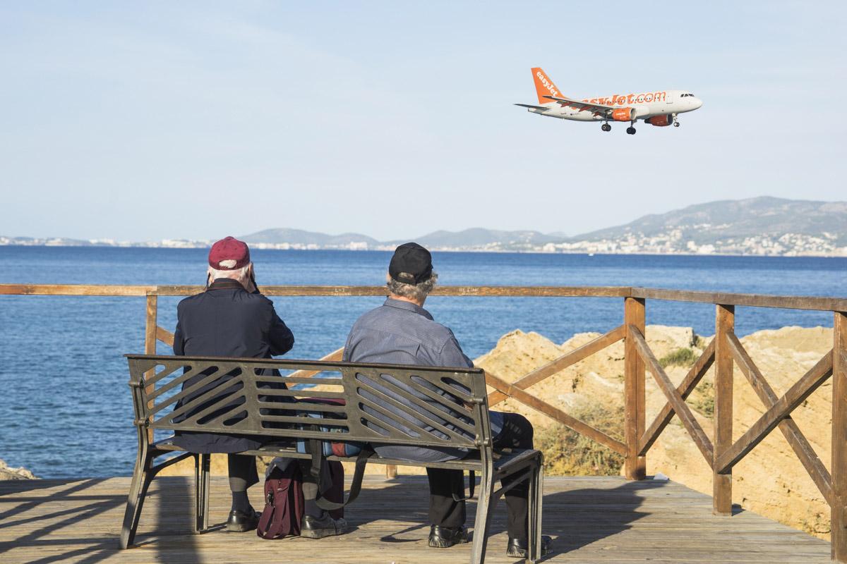 Spotters senior en el Aeropuerto Mallorca