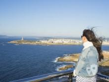 Vanina en el Monte de San Pedro (A Coruña)